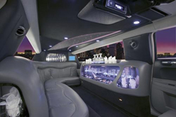 Stretch Limousines - 10 Passengers Interior
